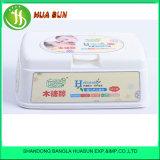 ポリ袋内の卸し売り極度の通気性の柔らかく最もよい品質の柔らかい赤ん坊のぬれたワイプ