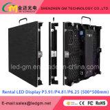 Indicador de diodo emissor de luz interno P2.5/P3/P3.91/P4/P4.81/P5/P6/P6.25 do arrendamento do preço de grosso; USD480