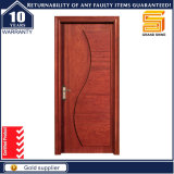 Red Oak Interior Engineer Porte en bois avec peinture PU de haute qualité