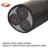 Cabo Sheathed PVC isolado PVC de cobre do condutor