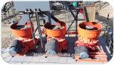 Mobile Kegel-Zerkleinerungsmaschine für die Sand-Herstellung (GPY200)