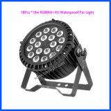 Светодиодный индикатор для использования вне помещений Parcan 18ПК*18Вт лампа