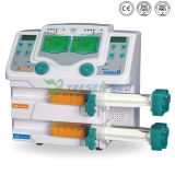 Yszs-810dの医学のポータブルICUの薬剤ライブラリ電気スポイトの注入ポンプ