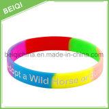 Wristbands poco costosi variopinti del silicone dell'OEM/Wristbands di festival