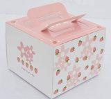 Caixa de bolo personalizado / papel de presente de comida Caixa de embalagem
