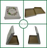 Rectángulo de regalo de empaquetado de la alineada de la cartulina del rectángulo de la alineada de boda con la impresión