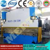 Тип машина гидровлической стальной плиты Wc67y CNC & складывая