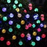 20FT 옥외 정원 크리스마스 훈장을%s 30의 LED 수정 구슬