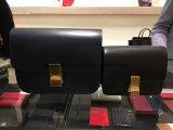 Form sackt Kupplungs-lederne Handtaschen ein