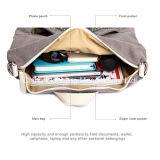Мешок школы книги Backpack холстины отдыха способа девушки