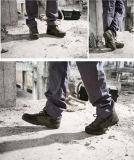 De tactische Militaire Laarzen van het Gevecht van de Schoenen van de Jacht van de Woestijn Kaki