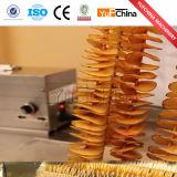 Slicer elétrico da microplaqueta de batata do aço inoxidável