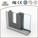 Porte coulissante en aluminium approuvée de certificat de la CE