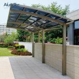 Moderno Parasol de aluminio Marquesina de policarbonato