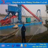 バケツのチェーン砂の金鉱山の浚渫船