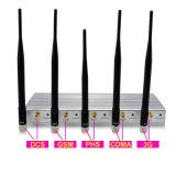 10W Jammer сигнала мобильного телефона наивысшей мощности 2g 3G с дистанционным управлением