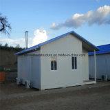Casa de marco de acero prefabricada de fácil montaje
