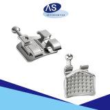 Monobloque de ortodoncia Roth MIM Soportes Soportes de metal una pieza.