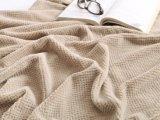 Ultra morbidezza eccellente della peluche del velluto con la coperta del panno morbido del reticolo di PUNTINO di Jacqard