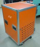 einfacher Kasten der Zahnstangen-16u in der orange Farbe