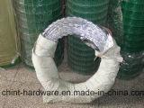 Напечатайте колючей проволоке бритвы Concertina фабрику на машинке провода бритвы в Китае