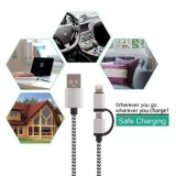 Universal Braided Micro USB 8 pin USB Charger DATA Cable for universe Cell Phone