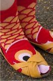 Носок носка 2-Toe платья Tabi Patten рыб Cuty