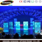 Visualización de LED de interior a todo color del alquiler del RGB P4 para la etapa