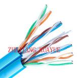 4 pares de Cat5e UTP 24AWG/Computer del cable de datos de cable de la comunicación de cable del conector del cable del audio