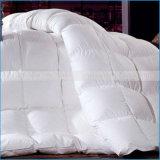 La alta calidad 100% algodón edredón de plumas de ganso