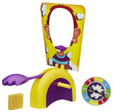 Stuk speelgoed van de Nieuwigheid van het Stuk speelgoed van het Gezicht van de pastei het Nieuwe