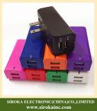 Заряжатель стены высокого качества складывая с USB 2ports