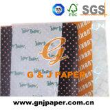 Sac décoratif de papier de soie de soie d'impression pour l'emballage de cadeau