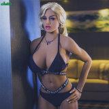 Jarliet heiße verkaufen166cm grosse Brüste 3D TPE-junge Silikon-Geschlechts-Puppe