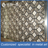 Factory Supplier Office Partition Screen PVD Color Metal Room Divider