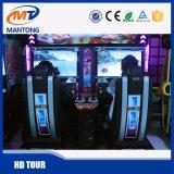 2 Jogadores popular simulador de Outrun interior da máquina de arcada