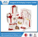 Dongguan Bespoke роскошный упаковывать хозяйственных сумок бумажного мешка одеяния