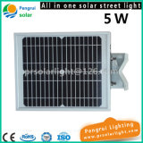 5W LED Sensor de Movimento Energia Ahorro Outdoor Garden Solar Light