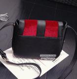 긴 어깨끈 Sy8179를 가진 형식 디자인 여자의 어깨에 매는 가방 가짜 스웨드 Crossbody 부대