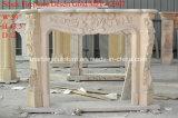 싸게 주식 (SY-MFP12307)에 있는 베이지색 대리석 벽난로 벽로선반을 판매하는 할인