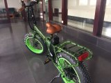 Bici eléctrica gorda plegable de 20 pulgadas con la batería del Litio-Ion