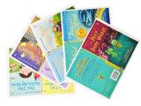 Impressão personalizada do livro da história da criança do papel de arte do projeto