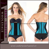 Hot Sale Cheap Transpirable Latex Waist Trainer Cincher Corset (TW7718)
