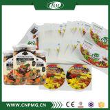 Kundenspezifischer transparenter Aufkleber-Kennsatz für das Verpacken