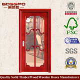 Interior House Wood Glaas Kitchen Door (GSP3-013)