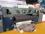 impressora de matéria têxtil de Digitas do grande formato de 1.8m (que fura a correia transportadora) com 4 cabeças do PCS 5113