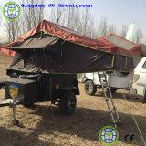 De Tent van de aanhangwagen voor de Reis van het Kamp van de Familie