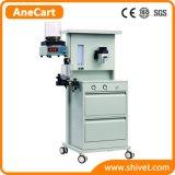 De veterinaire Machine van de Anesthesie met inbegrip van Ventilator (AneCart)