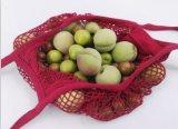 Sacchetto di Tote utile della maglia del cotone dell'imballaggio del panno del tovagliolo di spiaggia