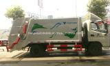 Petites 6 roues Foton 5 compresse d'ordures de m3 du camion 5 d'ordures de T et camion de transport